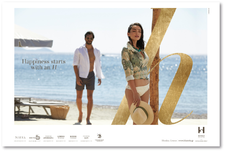 H Hotels Collection   F-Design   Digital   Advertising Agency 2871a4a6f44